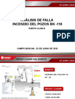 Analisis de Falla Incendio Pozo Bn-118