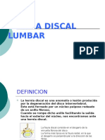 Hernia Discal Lumbal