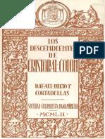 Descendientes de Cristobal Colon, Los - Rafael Nieto y Cortadellas