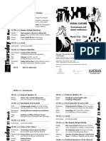 Conference Programme Foldable Printing 3