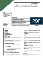 NBR 6855 - 1992 - Transformador de Potencial Indutivo.pdf