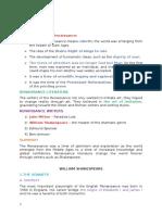 Conspecte Literatura Engleza Pentru Definitivat