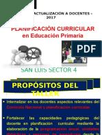 1.-Planificacion Curricular -Hugo 2017