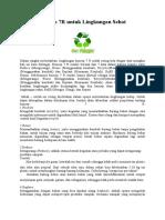Konsep 7R Untuk Lingkungan Sehat