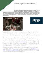 Empresa De Limpieza En la capital española. Oficinas, Comunidades