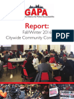 Grassroots Alliance for Police Accountability Report on Community Oversight