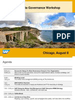 SAP Master Data Governance Workshop