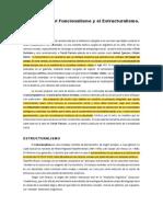 Diferencias Entre Funcionalismo y Estructuralismo