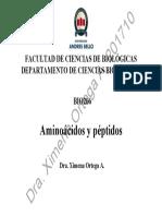 201710 BIO266 Clase 04 Aminoácidos y Péptidos