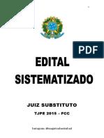 EDITAL SISTEMATIZADO 1