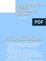 Low Cost Low Impact Storm Water Designs