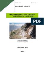 Memoria canal Huancane 3+00 al 5+500.doc