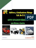 Productos Rabago 2016 R1,R2 y R8 Talentua