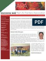 2006 V 2 Monterey Bay Plein Air Painters Association Newsletter