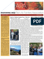2007 V 3 Monterey Bay Plein Air Painters Association Newsletter