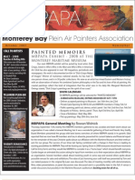 2007 V 4 Monterey Bay Plein Air Painters Association Newsletter