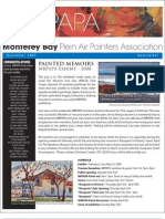 2007 V 5 Monterey Bay Plein Air Painters Association Newsletter