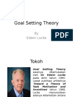 Goal Setting Theory (Edwin Locke)