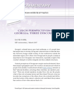 Czech Perspectives on Georgia