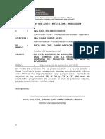 INFORME N° 006  - 2015 - Solicito Viaticos