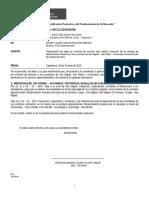INFORME N°01 - 2015 - INFORME DE SALIDA
