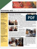 2008 V 2 Monterey Bay Plein Air Painters Association Newsletter