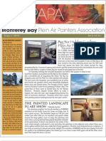 2008 V 3 Monterey Bay Plein Air Painters Association Newsletter