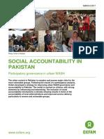 Social Accountability in Pakistan