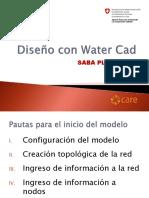 DISEÑO CON WATERCAD