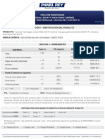 (MSDS) Panel de Yeso STD_ CLR_FLEX.pdf