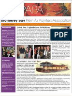2008 V 4 Monterey Bay Plein Air Painters Association Newsletter
