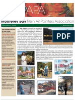 2008 V 5 Monterey Bay Plein Air Painters Association Newsletter
