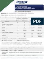 (MSDS) Panel de Yeso RH-EXT.pdf
