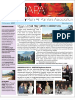 2009 V 1 Monterey Bay Plein Air Painters Association Newsletter