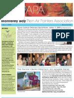 2009 V 2 Monterey Bay Plein Air Painters Association Newsletter