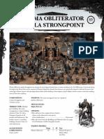 [Datasheet] Plasma Obliterator Aquila Strongpoint