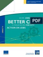 Urbact Report Better Cities Jobs
