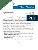 Mar22,2017- $3.7 million Awarded to Help Idaho's Homeless
