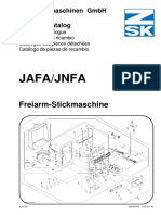 Repuestos Maquina JAFA