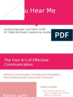 the four as of effective communication  3