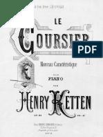 Le Coursier, Op.24 (Ketten, Henry)