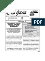 Acuerdo Ministerial 016-2015 Tabla de Categorización Ambiental