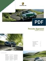 Catálogo Porsche Approved