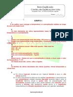 B.1 Teste Diagnóstico O Clima Formações Vegetais 2 Soluções