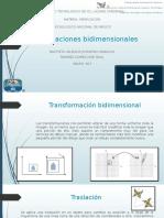 Transformaciones Bidimensionales Ramirez Gomez Bautista Valencia