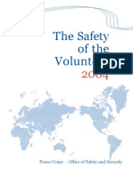 Peace Corps The Safety of The Volunteer 2004