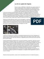 Empresa De Limpieza En la capital de España