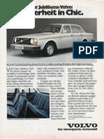 Volvo 244 Jubileum Ger. Add.