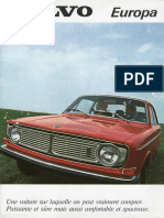 Volvo 140 Europa Brochure.