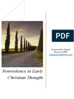 Nonviolence in Early Christian Thought